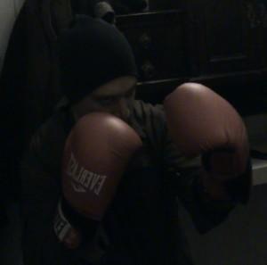 בורחה ודימיטרי מלמדים אגרוף